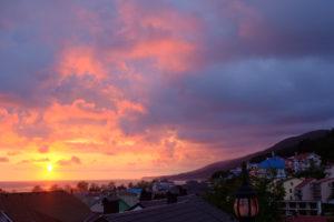 sunset roof